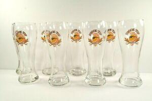 "Pint Glass Beer Shock Top Belgian White Pilsner Fluted 16 oz 8/"" Tall Bar Stock"