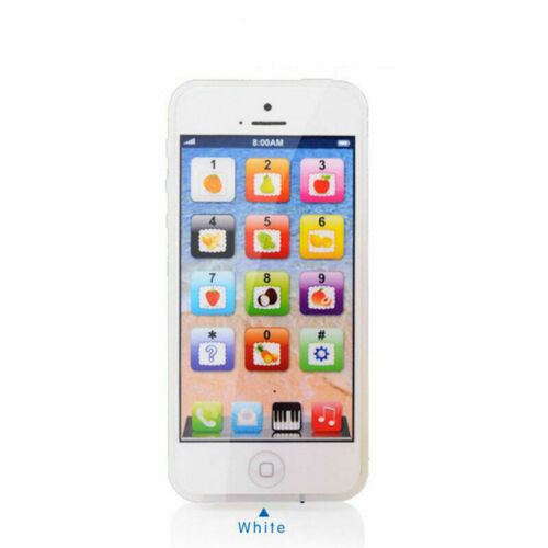 Cell Phone Toy Kids Simulator Music Touch Screen Educational Learning Child Gift