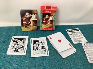 COCA-COLA  CHRISTMAS SANTA CLAUS PLAYING CARDS #334
