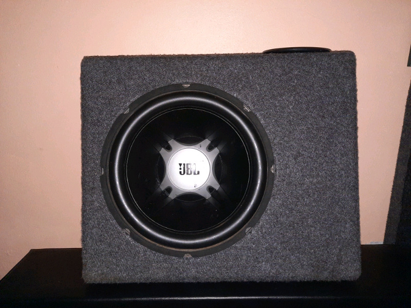JBL subwoofer with Box