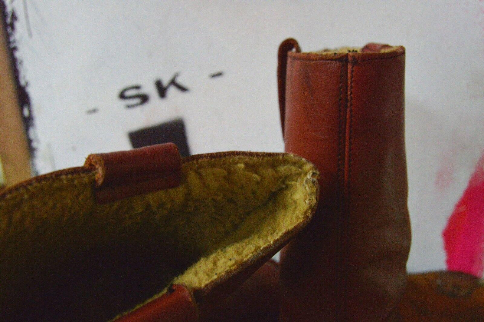 Herren Stiefel Boots 50er TRUE VINTAGE 60s Winter bottes штиблеты stivali wedges