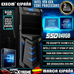 Ordenador-Pc-Gaming-Intel-Core-i7-9700K-8xCORES-8GB-DDR4-SSD-240GB-de-Sobremesa