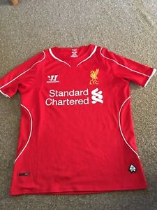 0560ec316 Image is loading liverpool-shirt-Home-Red-Warrior-Collectable-Jersey