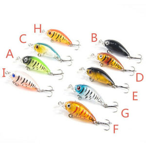 Lu-Ya-Bait-Plastic-Bait-Multi-Jointed-Bass-Fishing-Lure-Bait-New-GB09