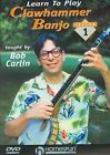 Learn to Play Clawhammer Banjo 0073999741834 With Bob Carlin DVD Region 1