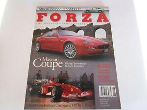 FORZA-MAGAZINE-FERRARI-Issue-38-June-2002-Maserati-Coupe-456M-GT-F1-Testa-Rossa