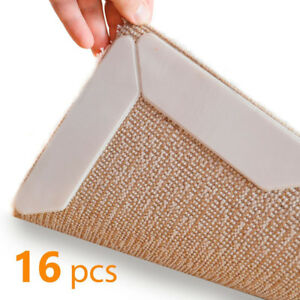 Image Is Loading Rug Grippers Anti Curling Non Slip Pad