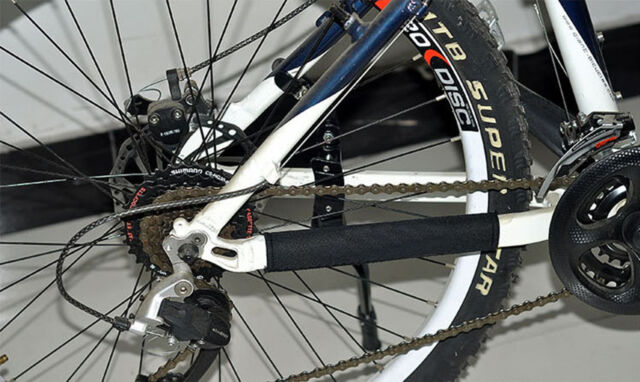 NEW CHAIN STAY PROTECTOR FRAME GUARD For MTB MOUNTAIN BICYCLE-FREE BIKE F1W0