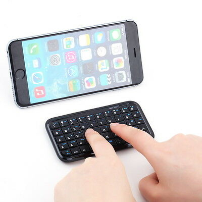 Mini Wireless Bluetooth 3.0 Keyboard for iPad2/3/4 iPhone 4S 5 Android OS PC KK