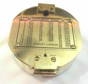 Antique-Maritime-Geological-Compass-Vintage-Nautical-Brass-Surveyor-Compass