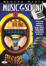Music and Sound  Ticktock Books: Modern Media paperback Very Good