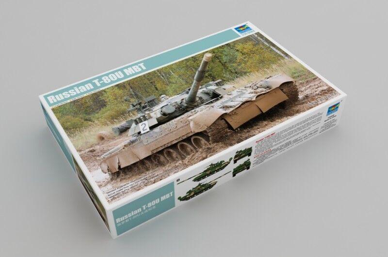 Trumpeter 1 35 Russian T-80U MBT