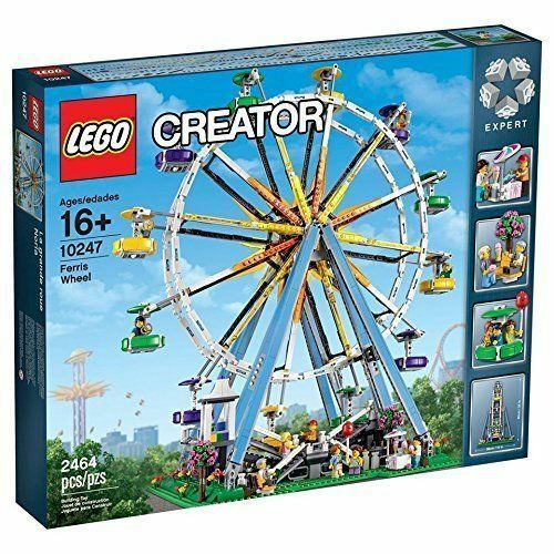 LEGO Creator Expert 10247 Ferris Wheel Building Kit Nuovo Sealed  2464 PCS