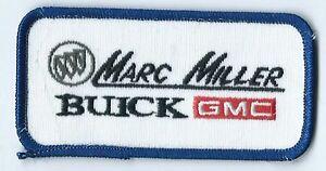 Miller Buick Gmc >> Details About Marc Miller Buick Gmc Dealer Employee Patch 2 X 4 Tulsa Ok