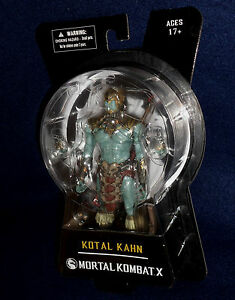 "EN STOCK Mezco mortal kombat /""Kotal Kahn/"" Action Figure"