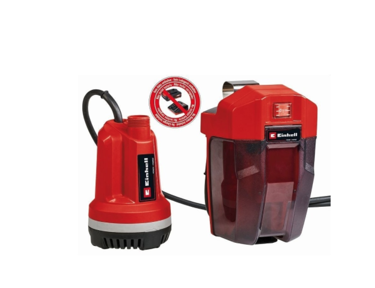 Pump for Water Fill Tanks Battery Powered Einhell Ge-Pp 18 RB Li Solo 4170429