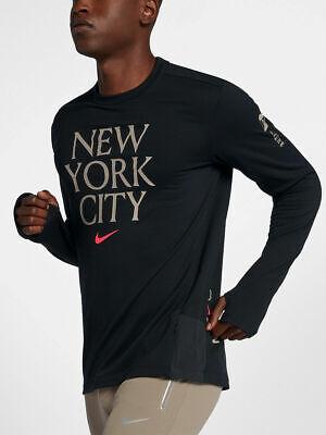 Creo que Suposiciones, suposiciones. Adivinar portátil  Nike Therma Mens NYC Sphere Element Crew Top 2.0 Black Size XL AV4142-010  888407209567 | eBay