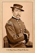 MORTIMER LEGGETT Civil War Union General Vintage Photograph Card CDV