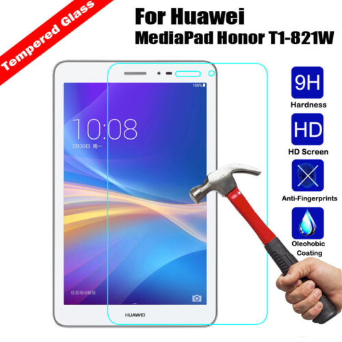 Screen Protector For Huawei Mediapad T1 8.0 S8-701W New Real Tempered Glass 9H
