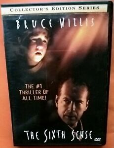 The Sixth Sense DVD Region 1 Bruce Willis Osment Collette Wahlberg Shyamalan