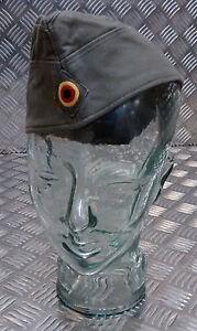 Genuine German Army Bundeswehr Moleskin Forage / Envelope Hat, Green Size 56cms