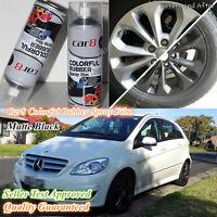 12x Matte Black Car Rubber Spray Color Paint Film Coat Wheel Rim Car8 Plasti Dip