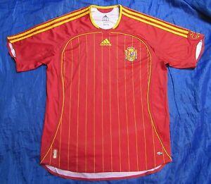b986bc645f3 SPAIN ESPANA World Cup 2006 Home Shirt jersey ADIDAS La Furia Roja ...