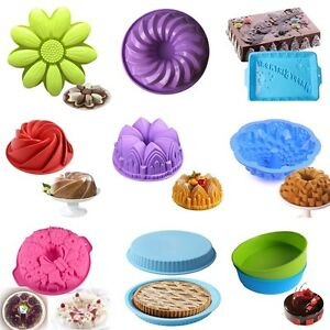 Silicone-Cake-Mold-Pan-Muffin-Pizza-Pastry-Baking-Tray-Mould-Bakeware-26-Styles