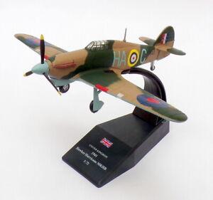 Pgs 1/72 Escala Modelo de Avión 40609-huracán Royal Air Force RAF