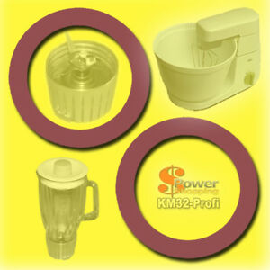 BRAUN-KM32-2-x-DICHTUNG-DICHTRING-GUMMIDICHTUNG-Glas-Mixer-KM-32-31-3-MX