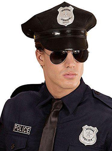 distin occhiali WIDMANN 95719 set poliziotto cappello
