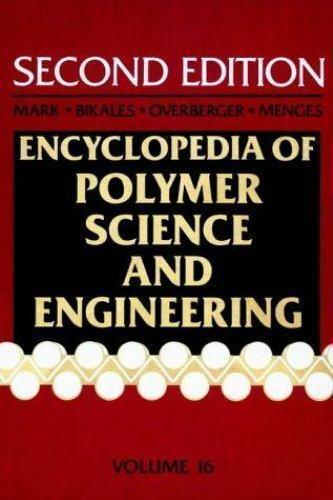 Styrene Polymers to Toys, Volume 16, Encyclopedia of Polymer Sci.. 9780471811824