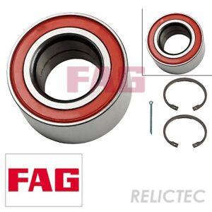 OPEL VECTRA B 1.7D Wheel Bearing Kit Front 95 to 98 FAG 1603196 90510542 328105