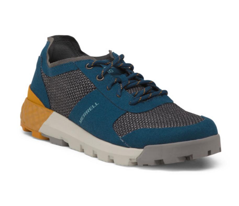 NEW MERRELL SOLO AC baskets chaussures femmes 6 J45414  CLASSIC AIR CUSHION bleu