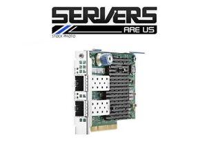 Strict Hp 10go 2 Ports Ethernet 727054-b21 562flr-sfp Adaptateur