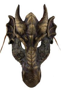 Maschera Veneziano Dragone Carta Poltiglia-Travestimento Venezia 22289 X17
