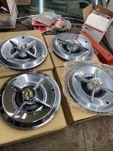 1957 Dodge  spinner hubcaps 1958 oldsmobile pontiac lowrider royal lancer hotrod