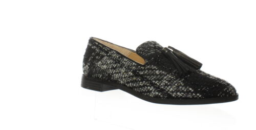 Franco Sarto Womens Hadden2 Black Loafers Size 7