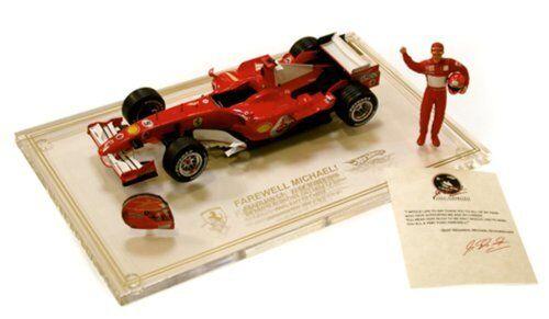 Ferrari f2006 Farewell m. schumacher L E 9250 Brazil gp Helmet figure 1 18 j2996