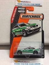 BMW M5 Police #53 * Grey/Green * Matchbox * NA6