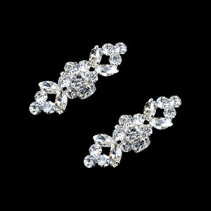 2pcs-set-Rhinestone-Shoes-Buckle-Elegant-Shoe-Clips-Silver-Shoe-diy-accessori-AU