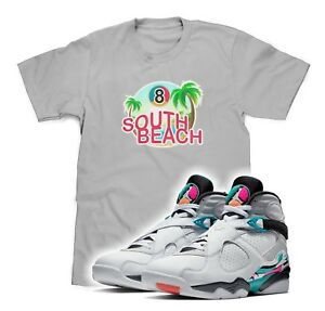 Gray 8 South Air Shirt Retro Sneakers Beach 3xl Match Details T To About Jordan S 2YWDHE9I