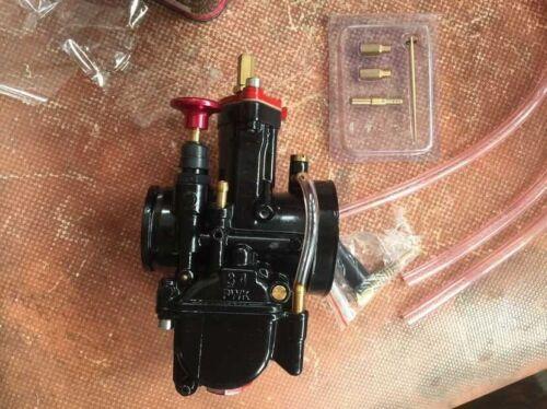 CARBURETOR GY-6 125cc,150cc SCOOTER HIGH PERFORMANCE CARB 34MM pwk BLACK COLOR