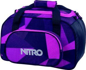 f7419773d526e Das Bild wird geladen Nitro-Sporttasche-Reisetasche-Duffelbag-XS-Fragments- Purple