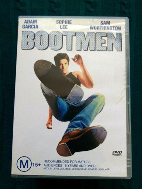 BOOTMEN - DVD- REGION-4, LIKE NEW, FREE POST WITHIN AUSTRALIA
