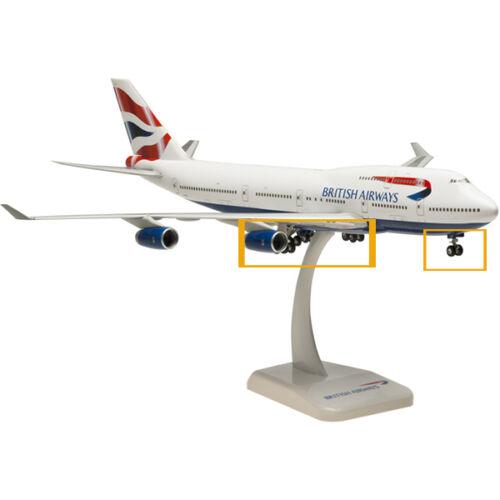 Hogan Wings 1:200 Remplacement Engrenages pour Airbus et Boeing Modèle Avions