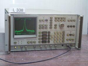 AGILENT-HP-3585A-SPECTRUM-ANALYZER-With-tracking-generator-20Hz-40MHz-L338