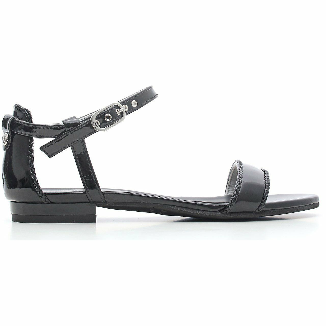 Sandalo NeroGiardini P615721D nuova collezione estate comodo OFFERTA SPECIALE