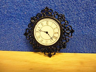1/12 scale Accessories BLACK WALL CLOCK  MC 2781
