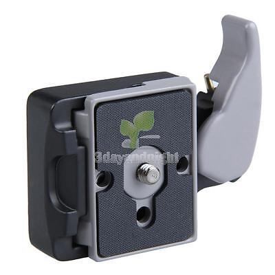 Black Camera 323 Quick Release Adapter with Manfrotto 200PL-14 Compat Plate NIGH
